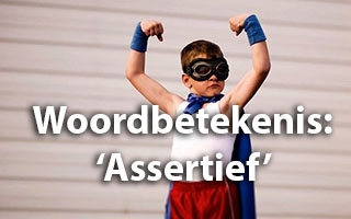 Woordbetekenis Assertief - Spelling & Zo