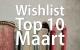 Boeken: Wishlist Top 10 Maart