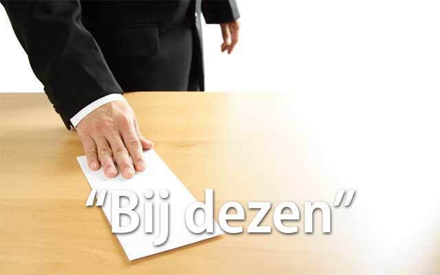 Bij Dezen - Spelling & Zo