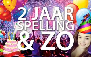 2 Jaar Spelling & Zo